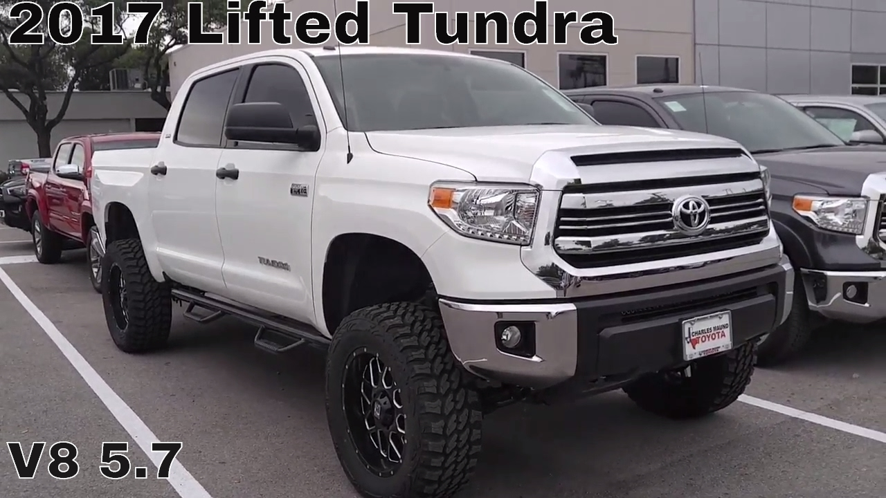2017 custom lifted tundra sr5 v8 5 7 youtube. Black Bedroom Furniture Sets. Home Design Ideas
