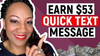 How To Make Money Online with SMS Text Messaging (WorldWide)