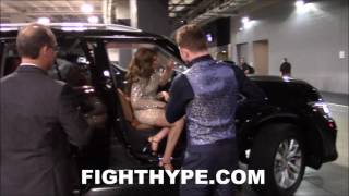 CANELO ALVAREZ A GENTLEMAN TO THE LADIES AFTER SAVAGE SMITH KO; DEPARTS AT&T STADIUM A CHAMP AGAIN