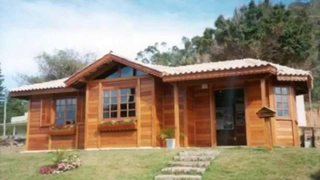 Casas prefabricadas en León - Casas de madera - YouTube