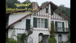 Maison basque Mauléon