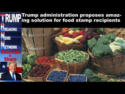 Trump administration proposes amazing solution for food stamp re