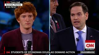 Survivor of school shooting: Why are we the ones marching?