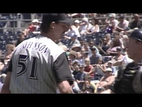 SD@ARI: Randy Johnson gets his 16th K in relief