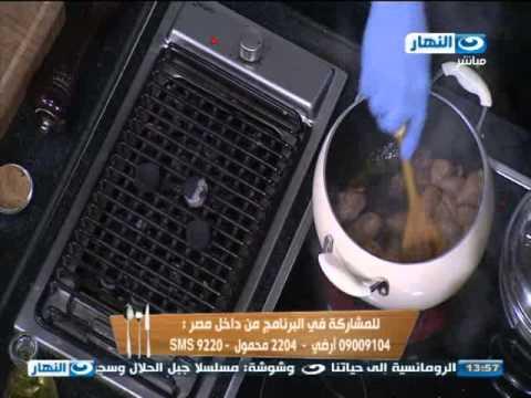 #لقمة_هنية : طريقة عمل يخن اللحمة بالفحم و أرنبيط بالدقة...