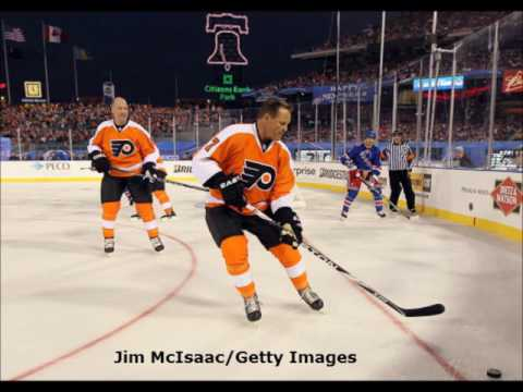 Pete Thompson Interviews Flyers Legends After Alumni Game