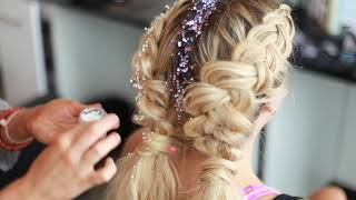 Surreal Blow Out Bar : Glitter Braids