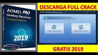 Descargar e instalar AOMEI OneKey Recovery 1.6.2 full Crack gratis 2019
