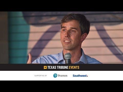 Beto O'Rourke, Democratic Candidate for U.S. Senate