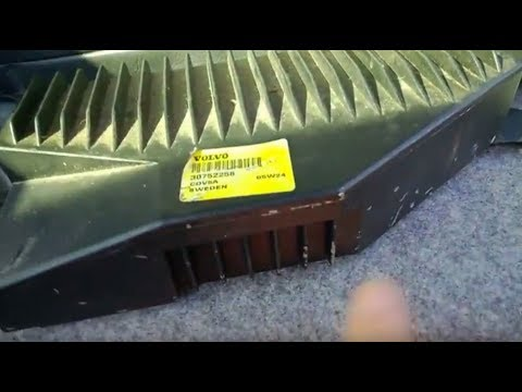 factory amplifier removal installation volvo youtube. Black Bedroom Furniture Sets. Home Design Ideas