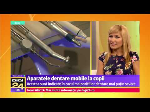 Aparatele dentare mobile