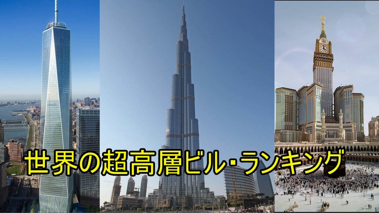 2015年世界の超高層ビル・ランキングTOP10