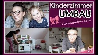 Kinderzimmer UMBAU   3. B-Day VORBEREITUNGEN beginnen 😍   Kommentare beantworten   FamilyVlog #232