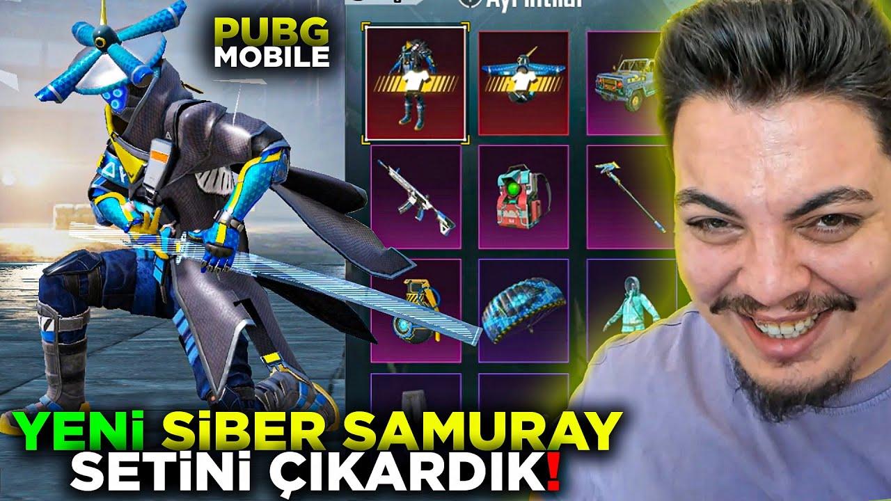YENİ SAMURAY SETİ ve EMOJİSİ Pubg Mobile
