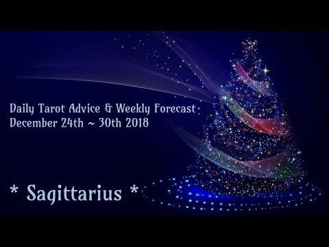 Sagittarius *It's Time to Shine!* ~ Dec 24th - 30th Tarotscope