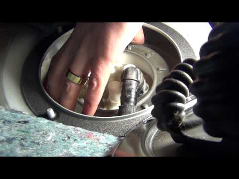 2014 BMW 335I >> BMW e90 335i fuel pump ring removal tips - YouTube