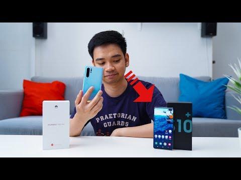 HP Terbaik, Huawei P30 Pro Atau Samsung Galaxy S10+?