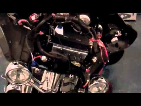 2006 Harley Softail Wiring Diagram J Amp M Audio Install 2010 Harley Ultra Classic Youtube