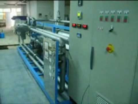 Design, construction and start up of a SWRO desalination plant 200 m3/d