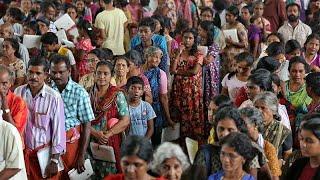 Kerala : un million de déplacés