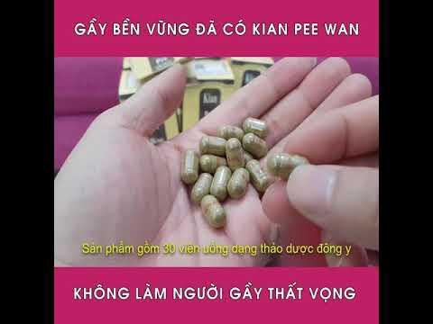 Tăng cân kian pee wan nhập khẩu malaysia
