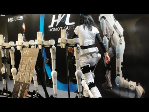 Cyberdyne HAL Robot Suit and Cybernics research #DigInfo