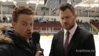 2018-03-10 - Cardiff Devils v Edinburgh Capitals, Andrew Lord Post Game Interview thumbnail