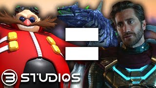 Spider-Man Far From Home: Mysterio is DR. EGGMAN?? | B Studios #Spiderman #SpiderManFarFromHome