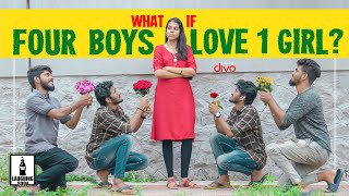 What If Four Boys Love One Girl? | Laughing Soda