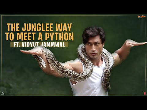 Junglee   How To Befriend A Python   Vidyut Jammwal   29th March