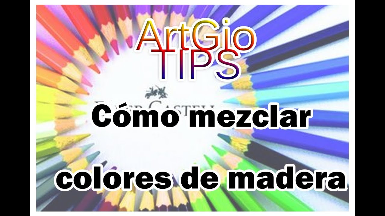 C mo mezclar y pulir colores de madera artgio tips youtube - Colores de madera ...