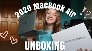 2020 MACBOOK AIR UNBOXING!!