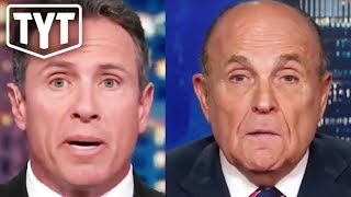 Giuliani Incriminates Himself On CNN