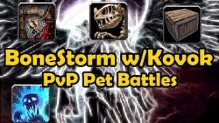 Pvp Pet Battles - Bonestorm W/kovok