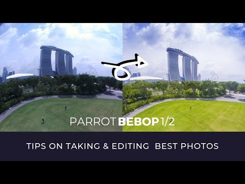 Parrot Bebop 1/2 - Taking & Editing the Best Photos RAW with Photoshop