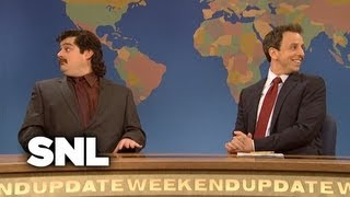 Weekend Update: Anthony Crispino, More on the News - Saturday Night Live