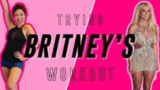 Britney Spears' Instagram Workout | Cassey Tries Celebrity Workout