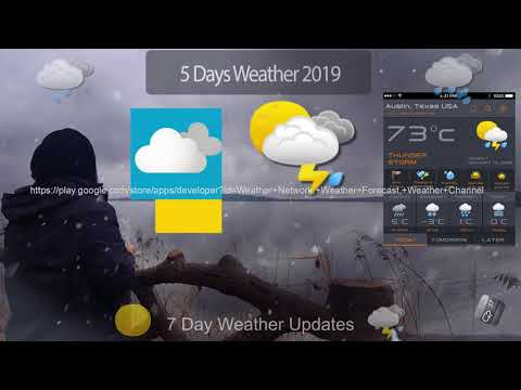 5 Day Weather Forecast Widget & Local Weather App – Apps