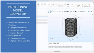 How to Use Partition Operations in COMSOL Multiphysics®