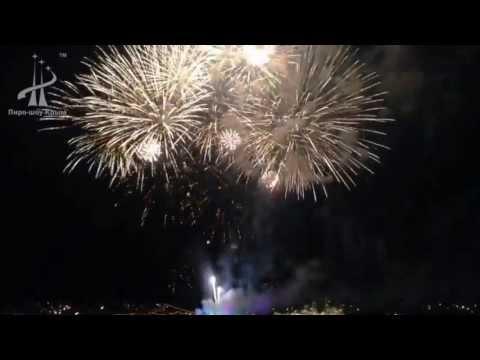 Фейерверк на День ВМФ, г.Севастополь, 28 июля 2013 г.
