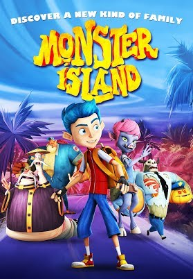 Monster Island Trailer 2017 Animated Family Movie HD