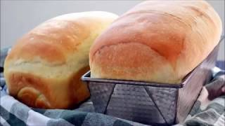 Домашний простой хлеб. Рецепт для хлебопечки.