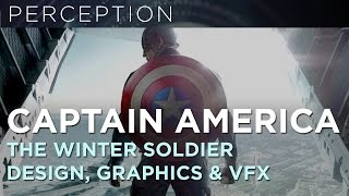 Captain America: The Winter Solider Design and Graphics Work