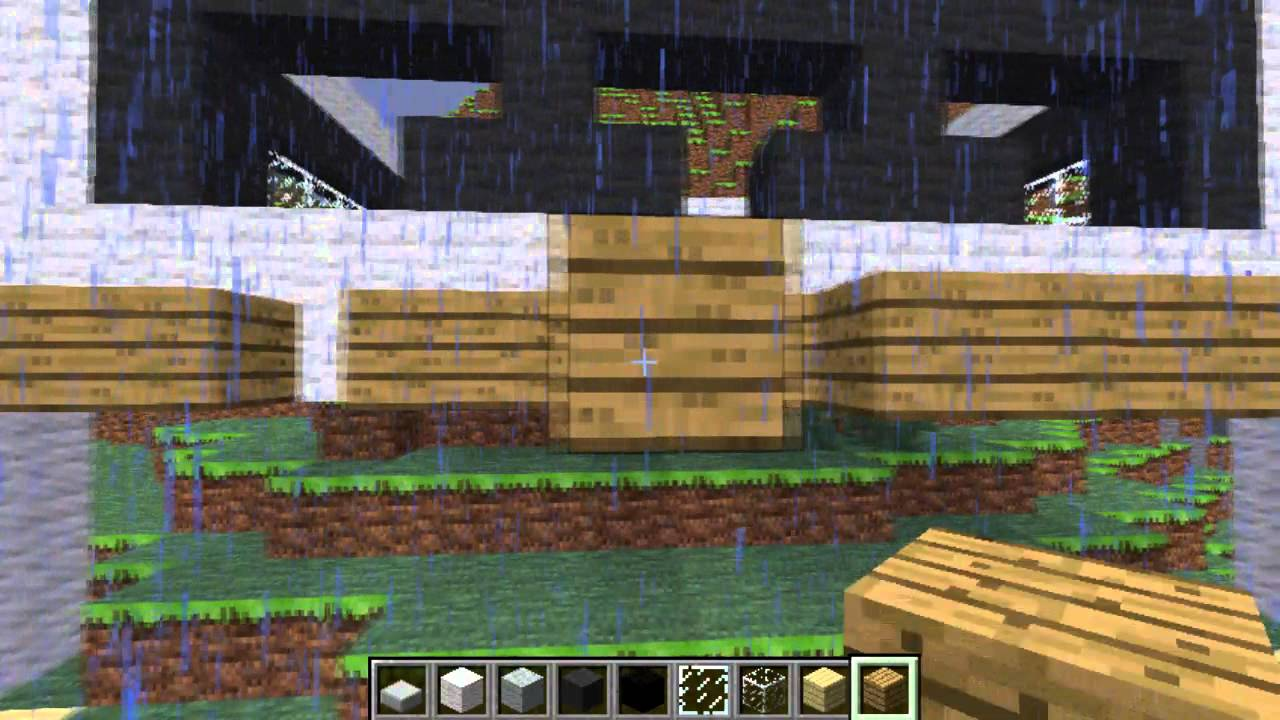 Minecraft construction d 39 une maison moderne sur flanc de montagne ep2 youtube for Construction de maison sur minecraft
