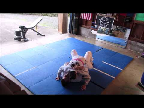 All 5 Gracie Combatives Test Drills Performed