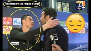 Cristiano Ronaldo Hugs and Pays Respect To Buffon ⚽ Real Madrid - Juventus 1-3 ⚽ 2018 HD #Buffon#CR7