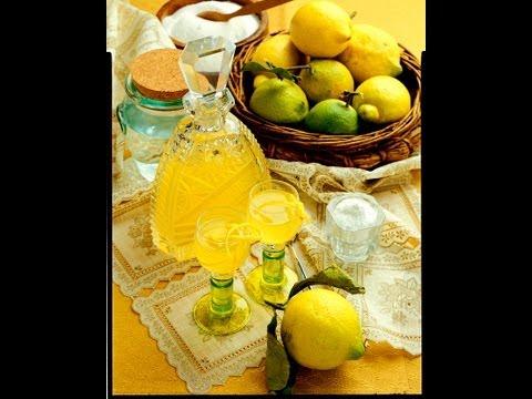 Итальянский ликёр лимончелло (limoncello).Рецепт без регистрации и смс