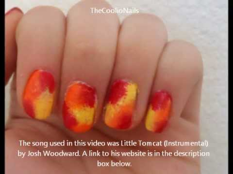 Cute Fall Nail Design Youtube