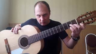 Цыганочка на гитаре.Разбор.3 Вариация