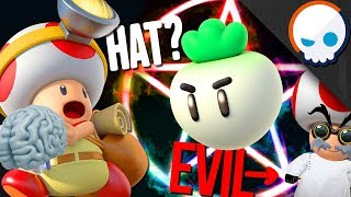 OVERTHINKING Captain Toad! | Gnoggin - Is Toad Evil? Does Toad Wear a Hat?